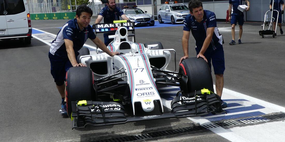 Williams - Formel 1 - GP Aserbaidschan - Baku - 17. Juni 2016