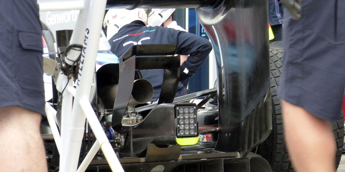 Williams  - Formel 1 - GP Australien - 15. März 2014