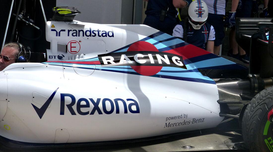 Williams - Formel 1 - GP Bahrain - 17. April 2015