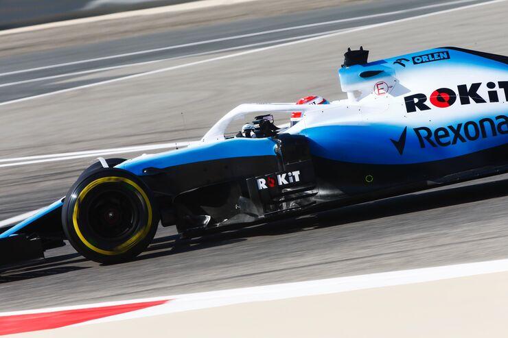 Kubica 'Conduzco un auto muy diferente al de Russell'