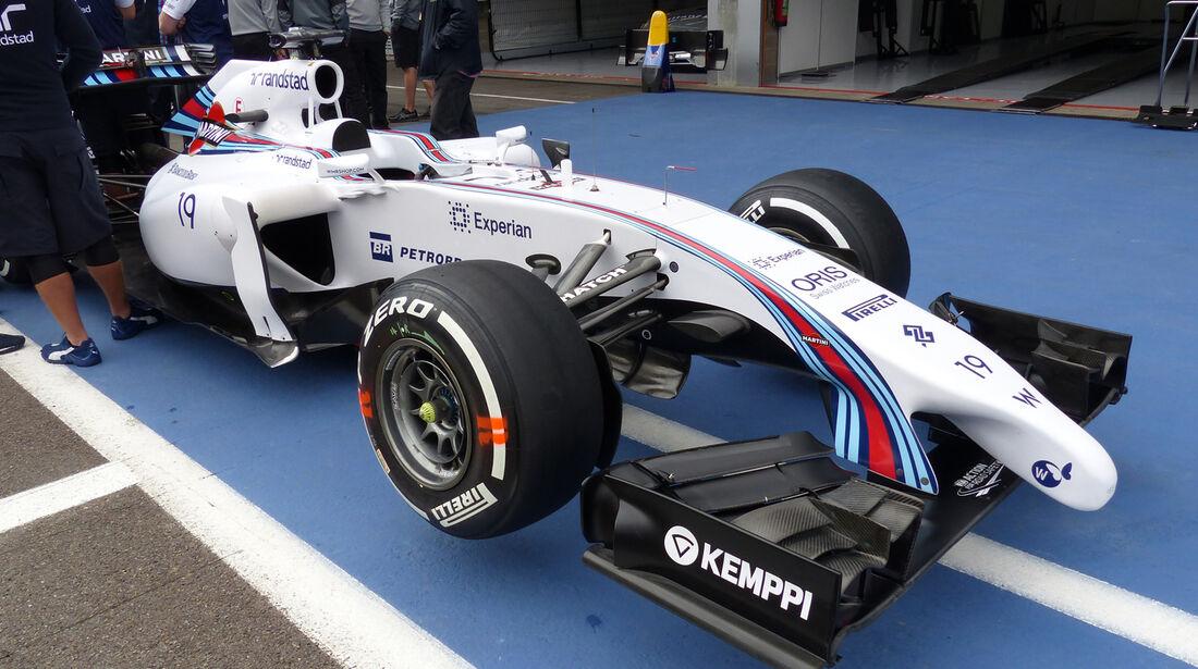 Williams - Formel 1 - GP Belgien - Spa-Francorchamps - 21. August 2014