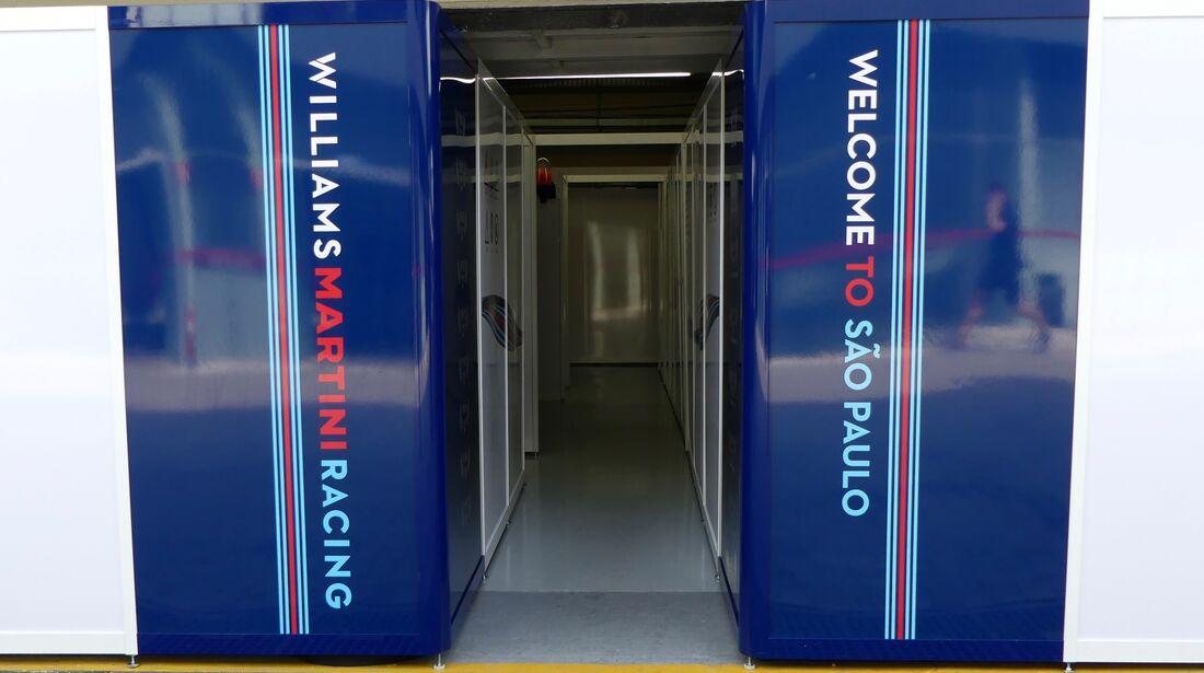 Williams - Formel 1 - GP Brasilien - 8. November 2017