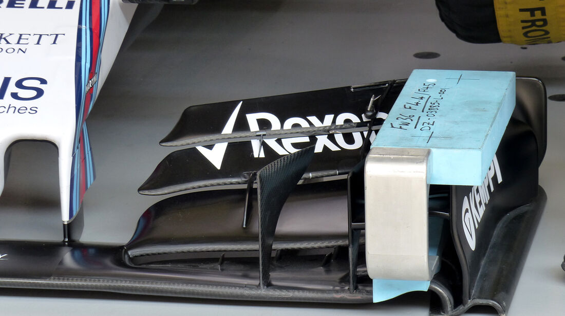 Williams - Formel 1 - GP China - Shanghai - 10. April 2015