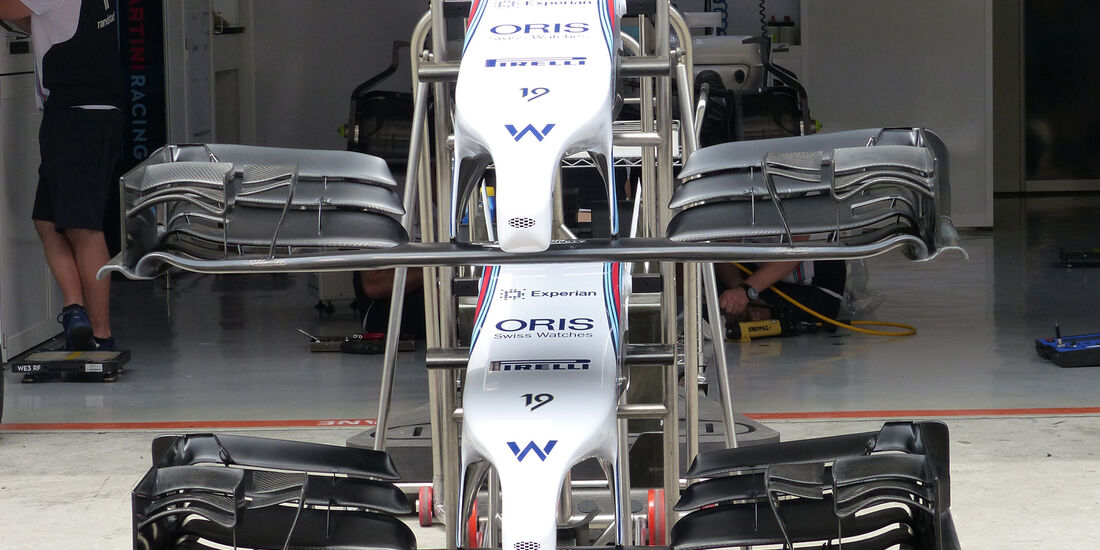 Williams - Formel 1 - GP China - Shanghai - 17. April 2014