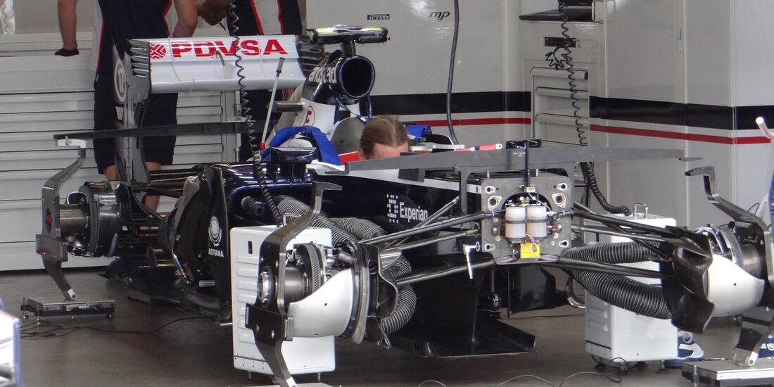 Williams - Formel 1 - GP Deutschland - 4. Juli 2013