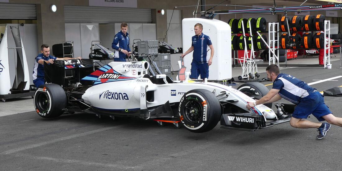 Williams - Formel 1 - GP Mexiko - 27. Oktober 2016