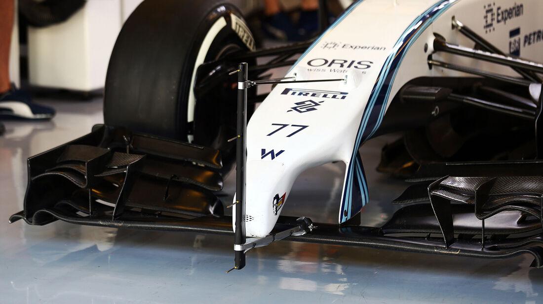 Williams - Formel 1 Test - Abu Dhabi - 25. November 2014