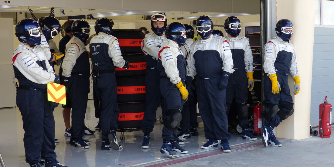 Williams - Formel 1 - Test - Bahrain - 21. Februar 2014