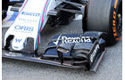 Williams - Formel 1-Test - Barcelona - 20. Februar 2015