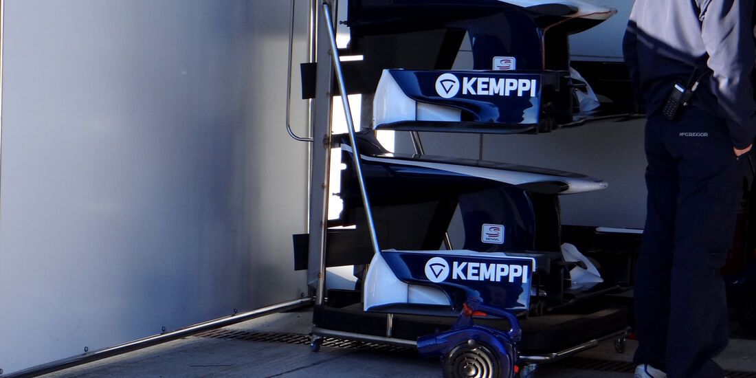 Williams - Formel 1 - Test - Jerez - 7. Februar 2013