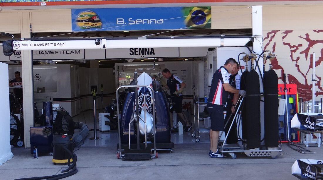Williams - GP Europa - Valencia - 21. Juni 2012