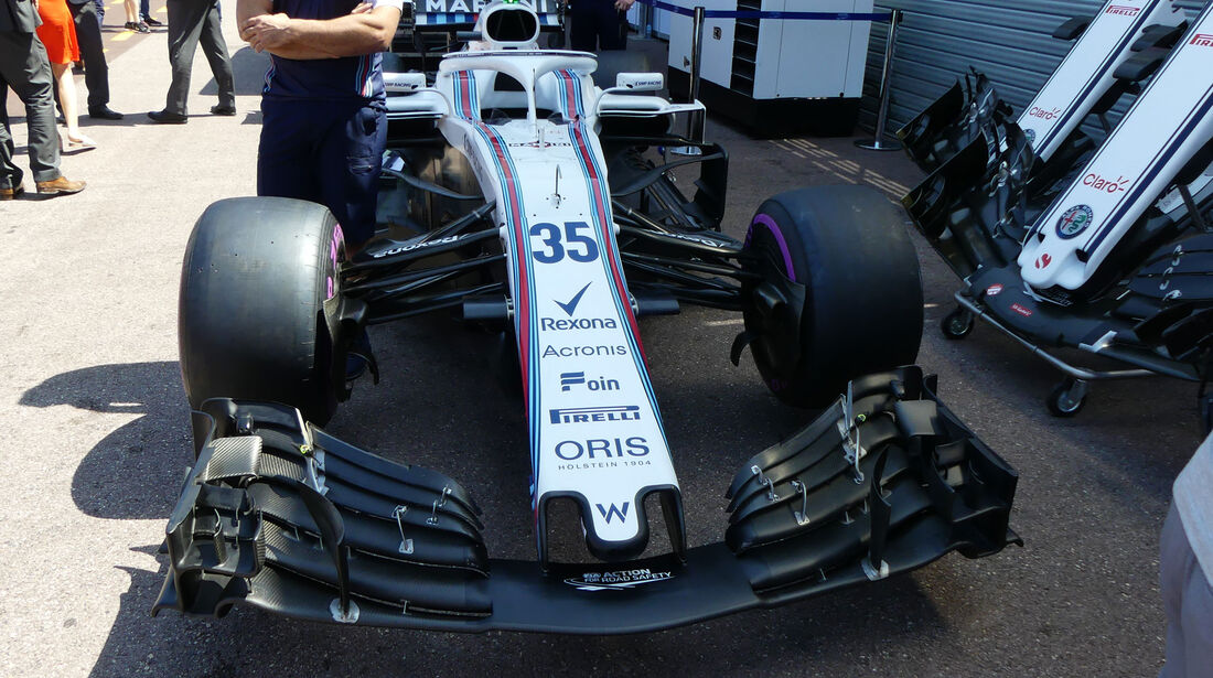 Williams - GP Monaco - Formel 1 - Freitag - 25.5.2018