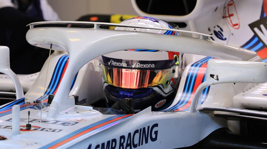 Williams - Halo - F1-Test - Barcelona - 2018