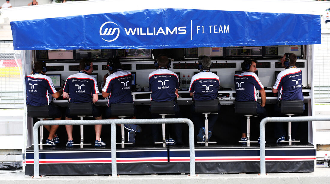 Williams Kommandostand