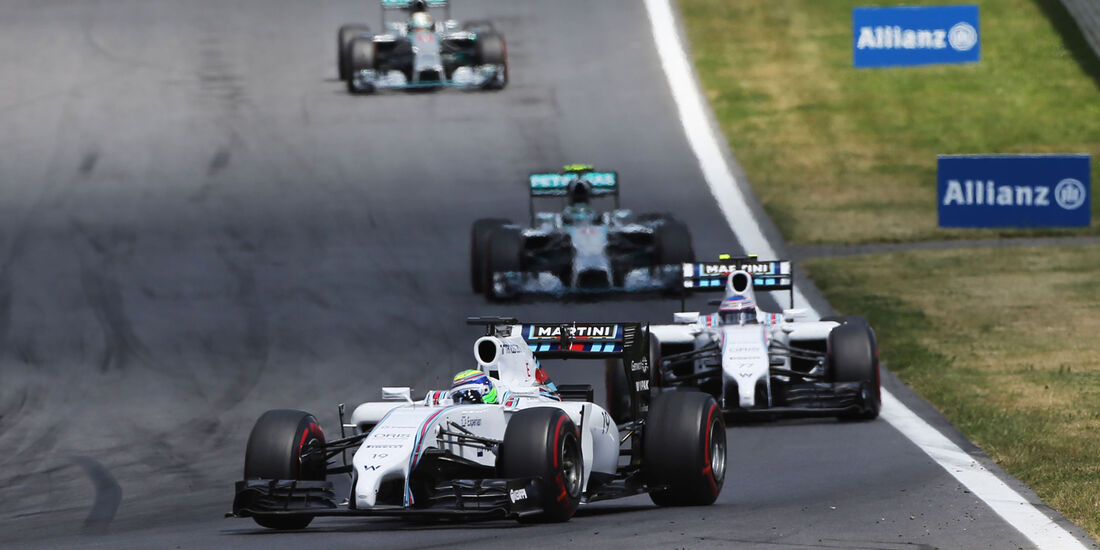 Williams & Mercedes - GP Österreich 2014