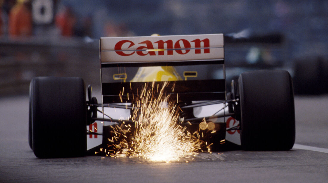 Williams-Renault - 1989 - GP Monaco