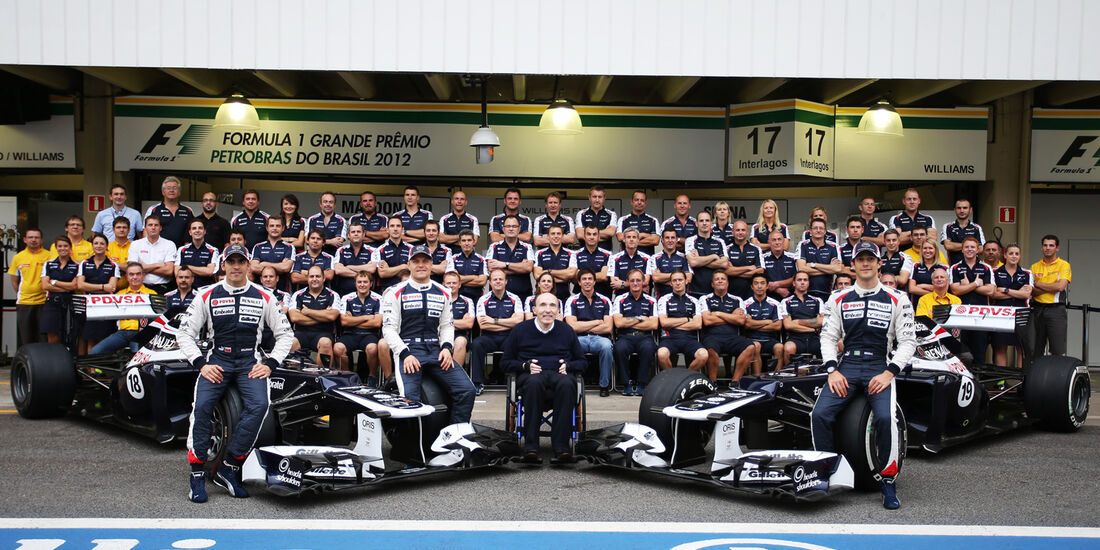 Williams Teamfoto 2012
