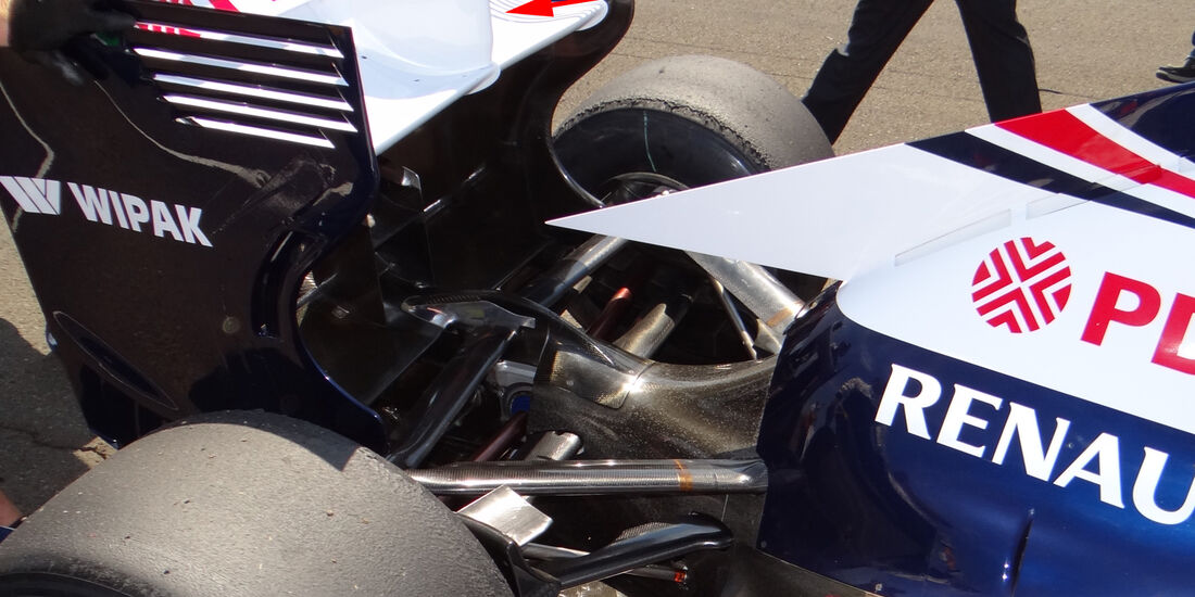 Williams - Technik - GP Ungarn 2013
