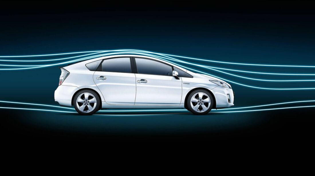 Windkanal, Toyota Prius