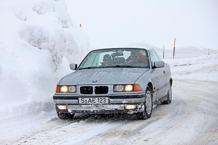 Winter-Tipps für Cabrios, BMW