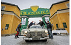 Winter Trail, Volvo Amazon 122S, Zeilankunft
