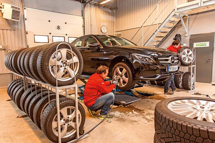 Winterreifen Test 2015 Der Größe 25550 R 17 Mittelklasse Reifen