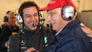 Wolff & Lauda - GP USA 2015