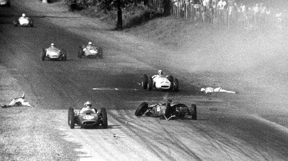 Wolfgang Graf Berghe von Trips - Ferrari 156 - GP Italien 1961 - Monza