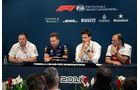 Zak Brown - Christian Horner - Toto Wolff - Frederic Vasseur - GP Monaco - Formel 1 - Donnerstag - 24.5.2018
