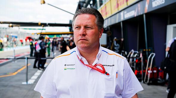 Zak Brown - McLaren - Formel 1 - 2019