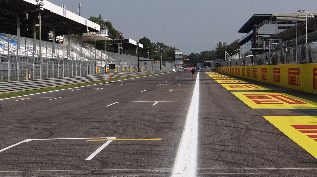 Zielgerade - Formel 1 - GP Italien - Monza - 5. September 2013
