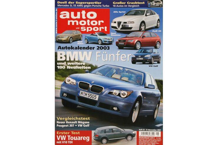 auto motor und sport auto motor und sport heft 25 2002. Black Bedroom Furniture Sets. Home Design Ideas
