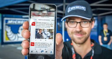 ams Leserreporter Formel E Berlin Michelin 2017