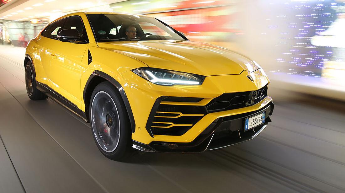 c7b05a429b Lamborghini Urus im Test  so sportlich ist der Lambo-SUV - auto ...