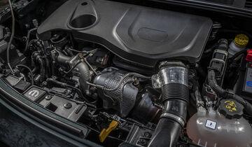ams0319, Vergleichstest, Fiat 500X 1.3 GSE, Motorraum