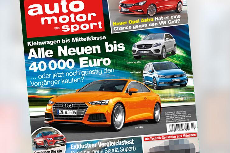 auto motor und sport 13 / 2015 Titel