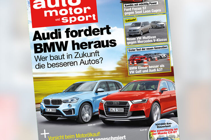 auto motor und sport 9 / 2015 Titel