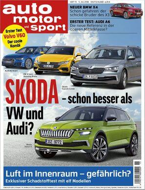 auto motor und sport Heft Titel 15/2018