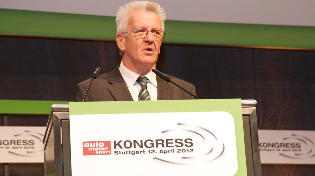 auto motor und sport-Kongress, Winfried Kretschmann