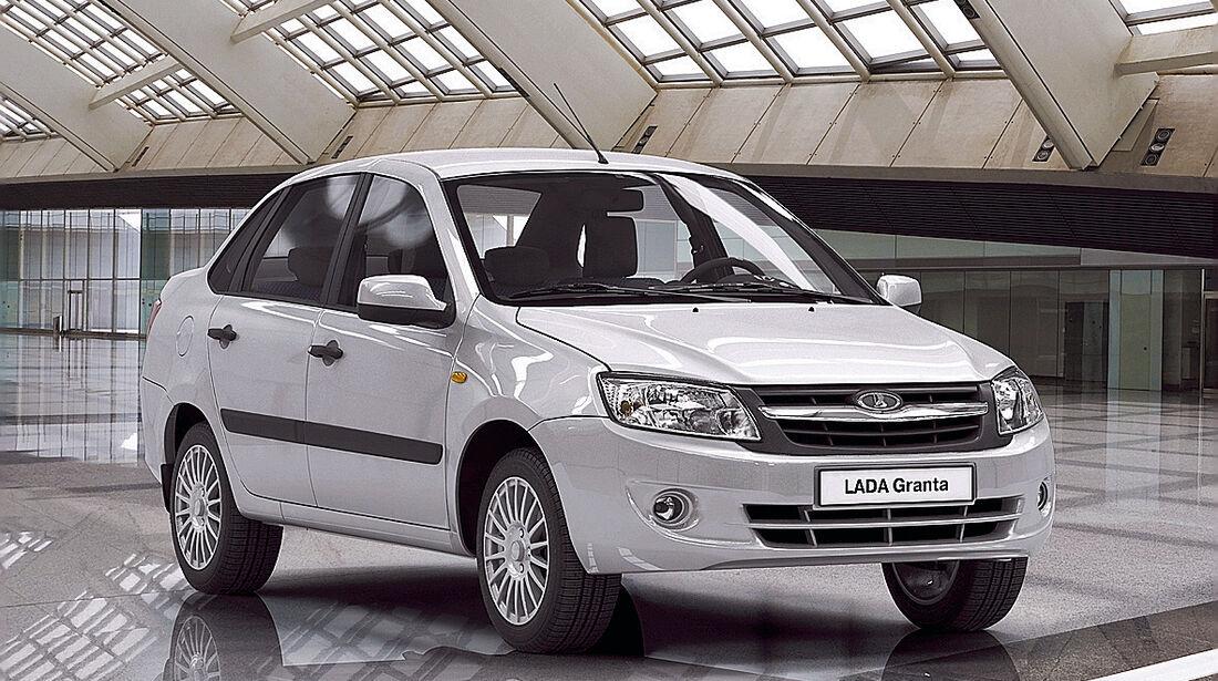 auto, motor und sport Leserwahl 2013: Kategorie B Kleinwagen - Lada Kalina/Granta