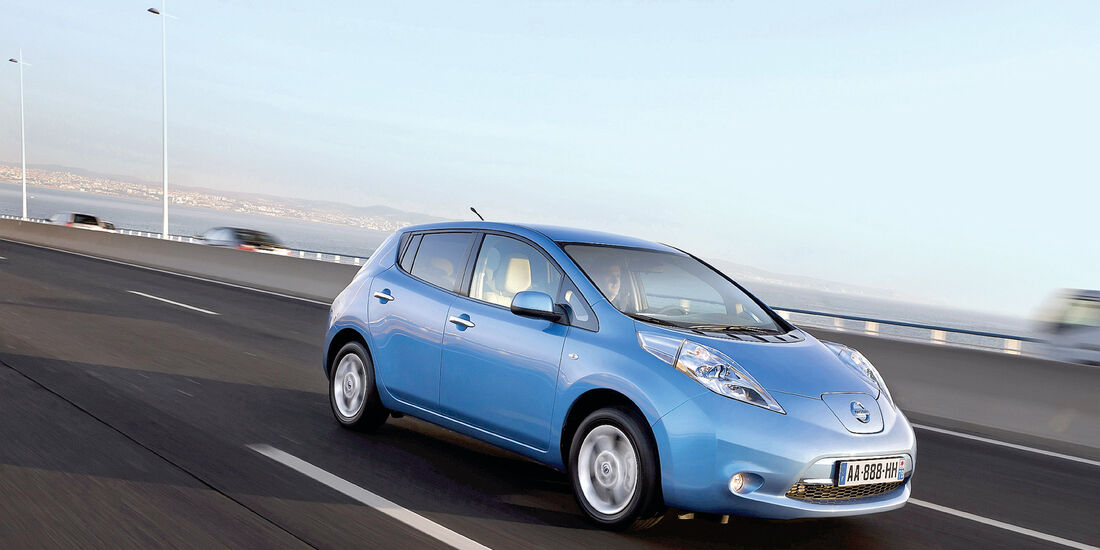 auto, motor und sport Leserwahl 2013: Kategorie C Kompaktklasse - Nissan Leaf