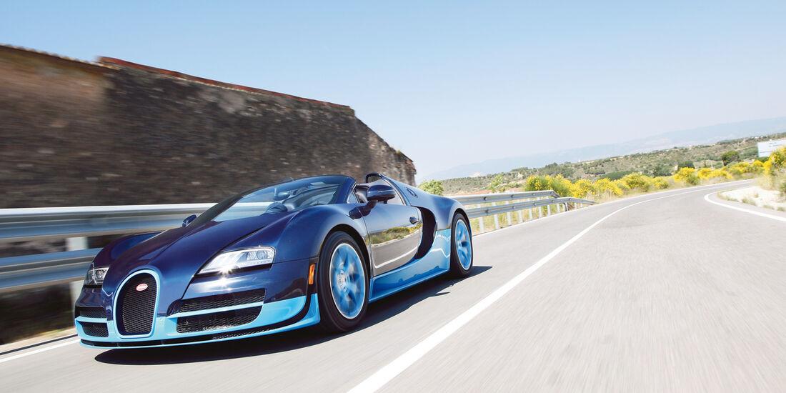auto, motor und sport Leserwahl 2013: Kategorie G Sportwagen - Bugatti Veyron