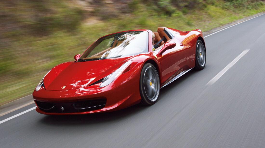 auto, motor und sport Leserwahl 2013: Kategorie H Carbrios - Ferrari 458 Spider