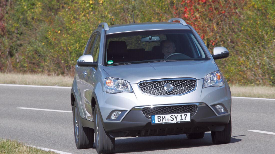 auto, motor und sport Leserwahl 2013: Kategorie I Gelände - Ssangyong Korando