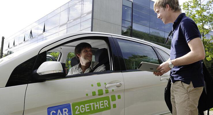 car2gether, Mitfahrgelegenheit, Daimler, Smart
