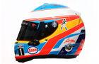 fernando Alonso - Formel 1 - Helm - 2016