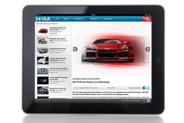iPad IAA App