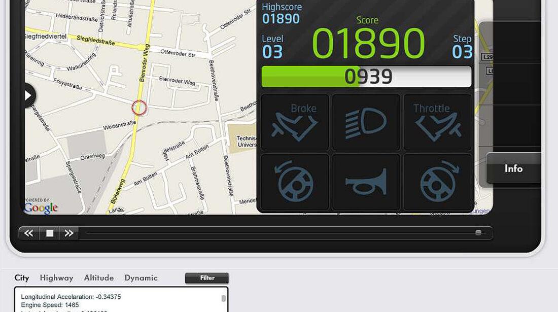 iPhone-App, VW App my Ride, Re-action