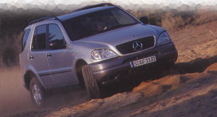 Mercedes ML 320 (Seite 3) - auto motor und sport