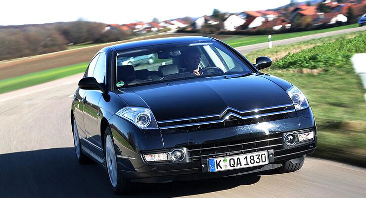 citroen c6 hdi 240 der neue dreiliter v6 turbodiesel auto motor und sport. Black Bedroom Furniture Sets. Home Design Ideas